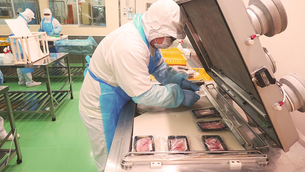 鮮魚加工で培った品質管理手法